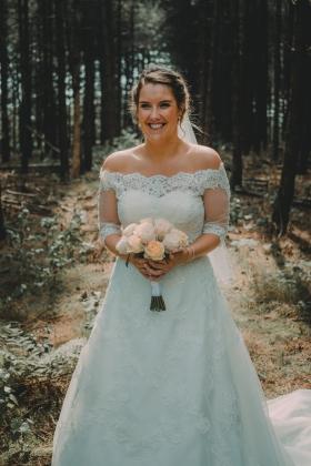 Bruidsmakeup mol