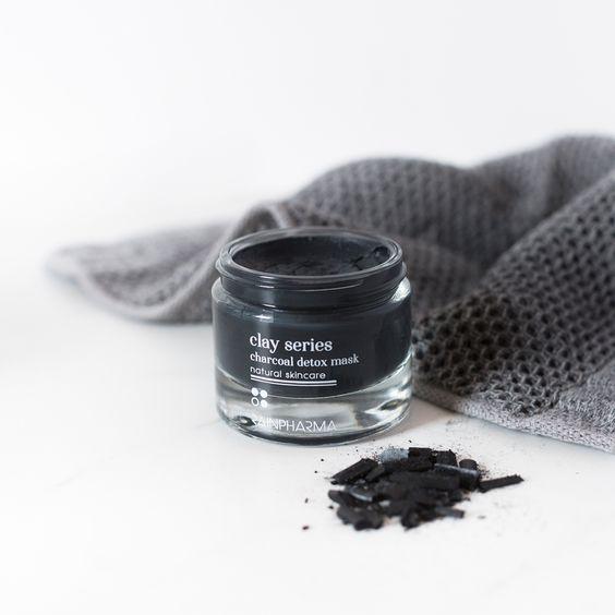 Clay Series Charcoal Detox mask Rainpharma