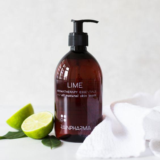 skin wash Lime 500ml rainpharma mol geel balen meerhout