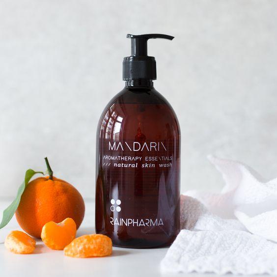 skin wash mandarin 500ml rainpharma mol geel balen meerhout